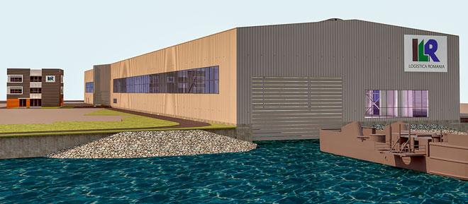 ILL - Trimodales Logistikzentrum im Hafen von Giurgiu