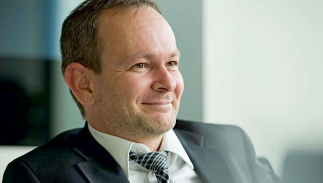 Portrait Gerald Hofer MBA, CEO Knapp AG | Foto: Jan Gott / RS Verlag
