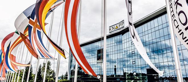 Knapp AG in Hart bei Graz | Foto: Knapp