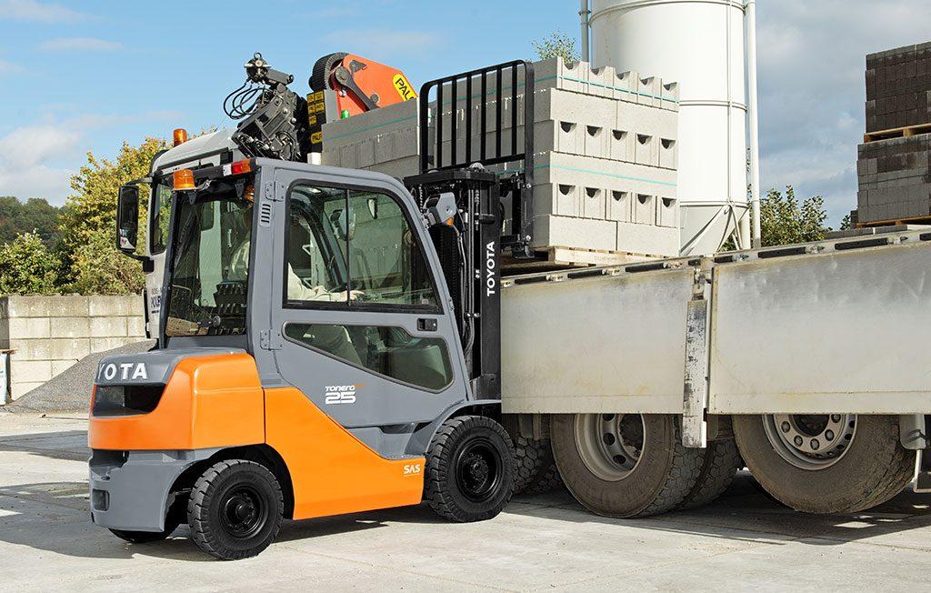 Toyota Tonero HST: Robust und für harte Einsätze prädestiniert. | Foto: Toyota Forklifts Europe