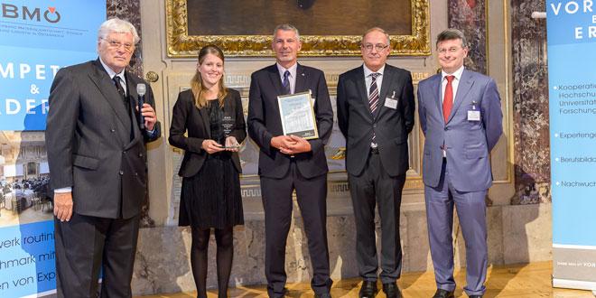Zumtobel - Austrian Supply Excellence & Einkauf 4.0 Award 2016 - Verleihung