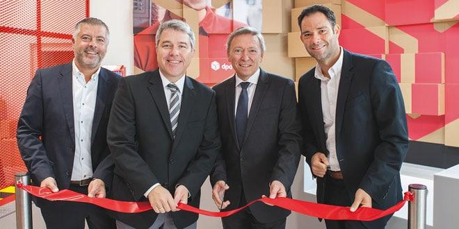 Eröffnung des City Hub in Aspern | Foto: DPD