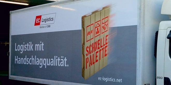 EC logistics LKW   Foto: WeberData