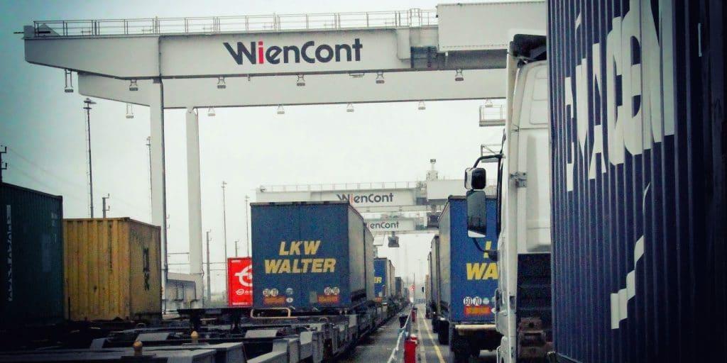 Hafen Wien Containerterminal