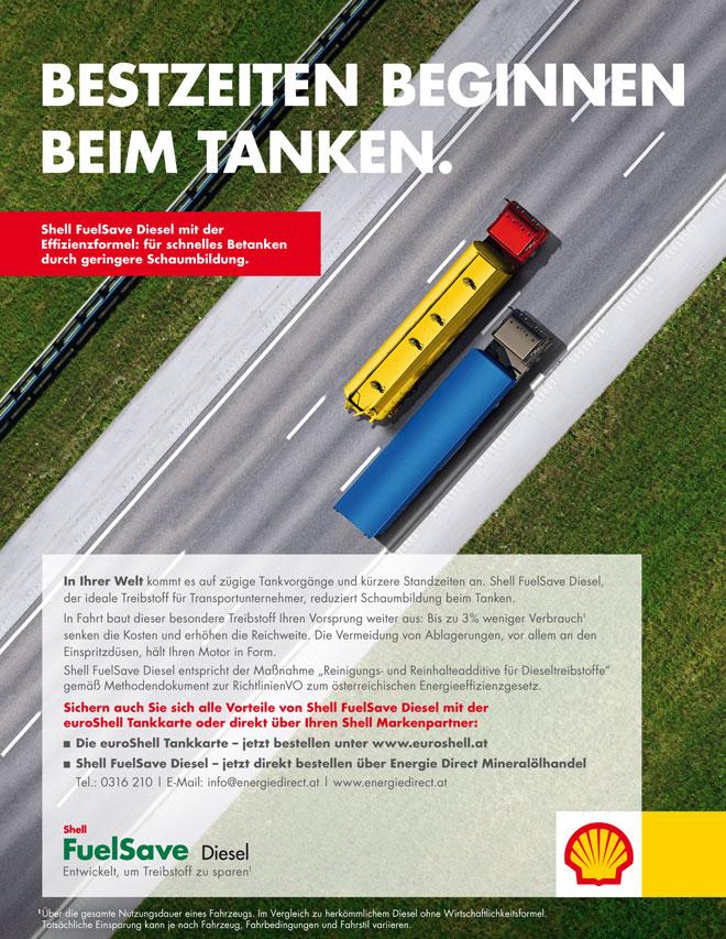 Shell FuelSave Diesel Inserat