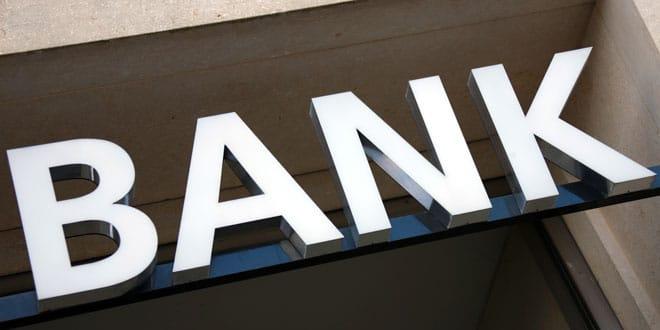 BANK Schild q.pictures pixelio