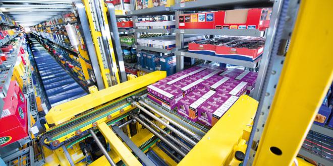 SSI Lagerautomation | Foto: SSI