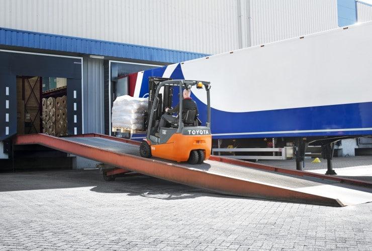 toyota 03 traigo 48 bei der anwendeung | Foto: Toyota Forklifts Europe