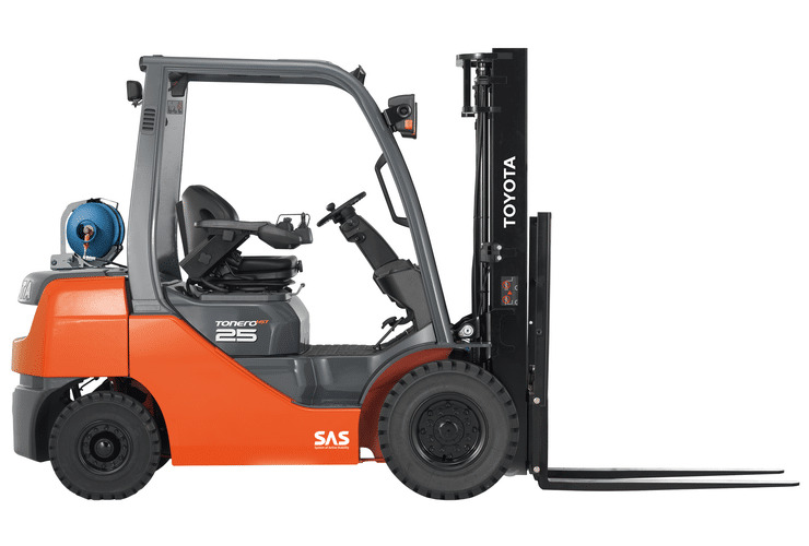 Toyota Tonero 2.5t HST | Foto: Toyota Forklifts Europe