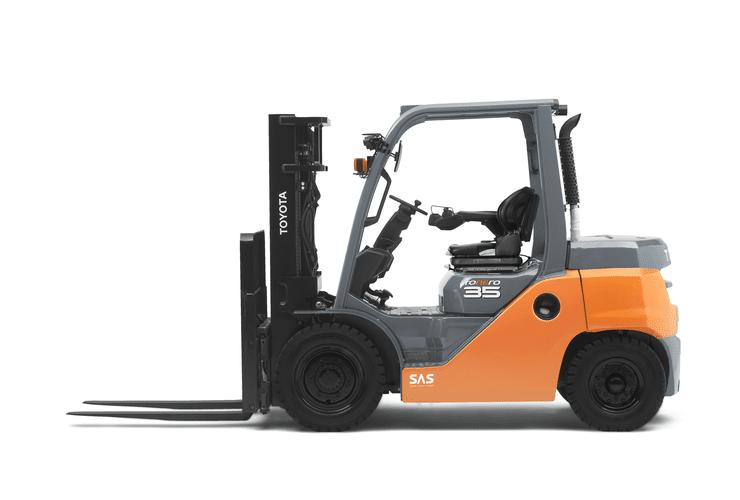 Toyota Tonero 3.5t | Foto: Toyota Forklifts Europe