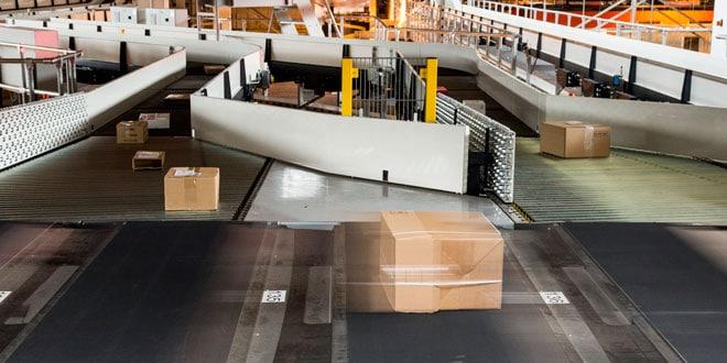 Paketzentrum Frauenfeld der Schweizerischen Post