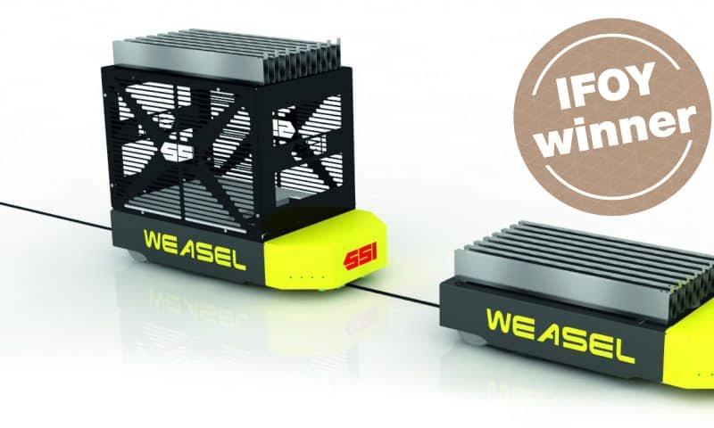 SSI SCHÄFER – Weasel bei NextLevel Logistik