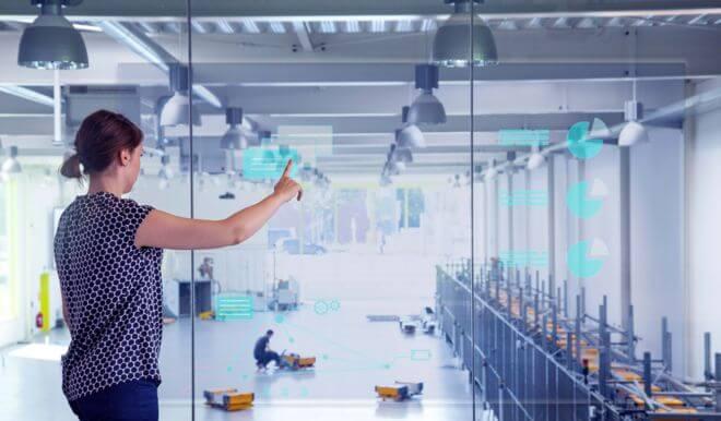 Das Enterprise Lab beim Fraunhofer