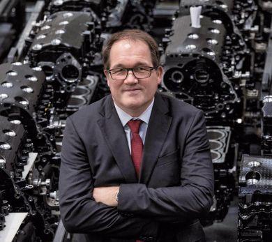 Thomas Uhr, CEO BRP-Rotax (Foto: VNL)