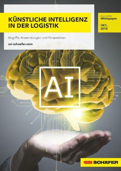 """Cover Whitepaper """"Künstliche Intelligenz""""."""