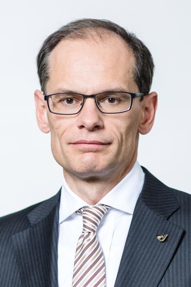 Finanz-Vorstand W. Oblin (Foto: Österreichische Post)
