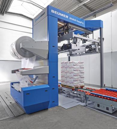 stretch hood A (Foto: Beumer Group)