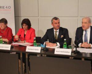 (v.l) B. Ederer, R. Anderl, N. Hofer, K. Hofstädter. (Foto: RS Media World)
