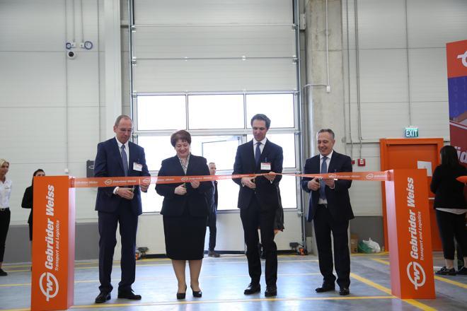 Terminal-Eröffnung in Tiflis (Foto: Gebrüder Weiss)