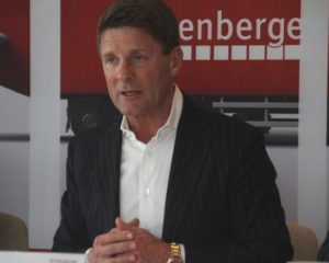 C. Fürstaller, CEO Quehenberger Logsitics (Foto: RS Media World)