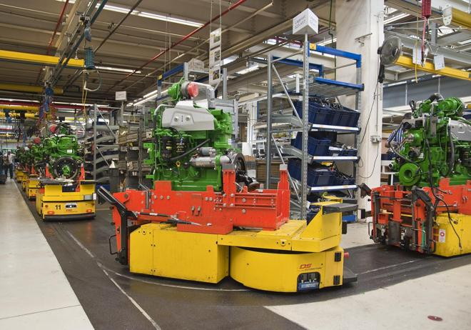 DS Automotion bei John Deer (DS Automotion / RS Media World Archiv)