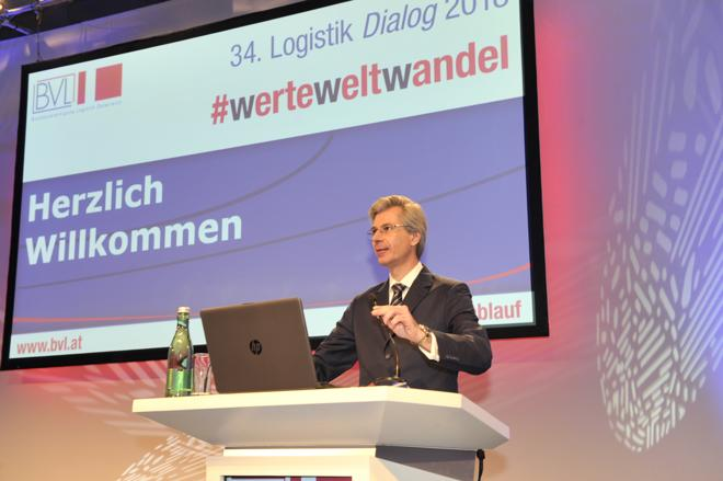 BVL Österreich-Präsident R. Stiftner (Foto: BVL / RS Media World Archiv)