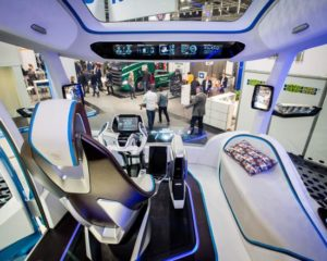 IVECO Z-Truck-Cockpit (Foto: transport logistic)