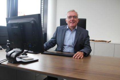 R. Seebacher, Geschäftsführer BITO Lagertechnik Austria. (Foto: Helena Schlobach / RS Media World)