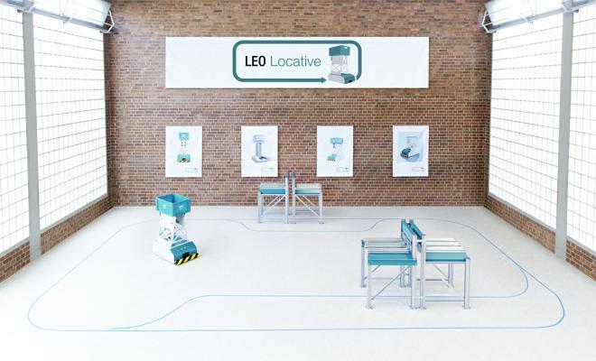 LEO LOCATIVE, die FTS-Lösung von BITO Lagertechnik