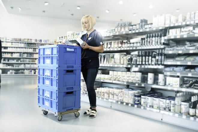 Behälter für alles (Foto: SSI Schäfer)