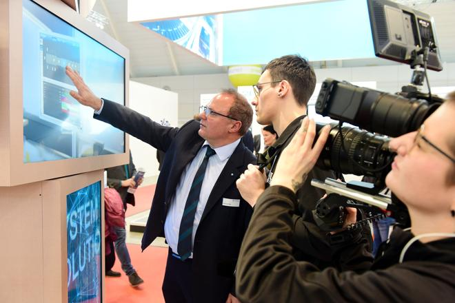 LogiMAT 2020: Im Zentrum der Digitalisierung und Transformation (Foto: LogiMAT)