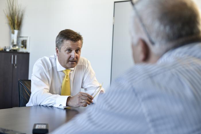 C. Erlach: Die Gesundheit der Mitarbeiter ist uns wichtig (Roland Ferrigato / RS Media World Archiv)
