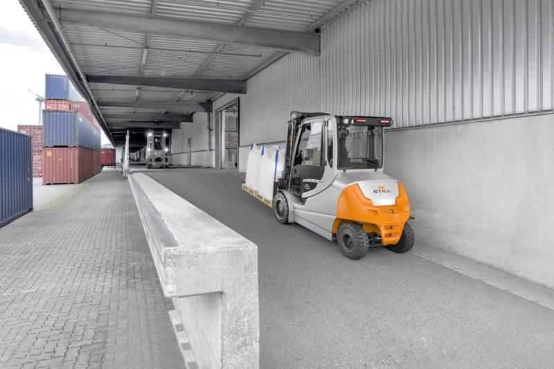 RX 60 35/50: Antriebskonzept liefert Kletterfähigkeit bis 20 Prozent. (Foto: Still)