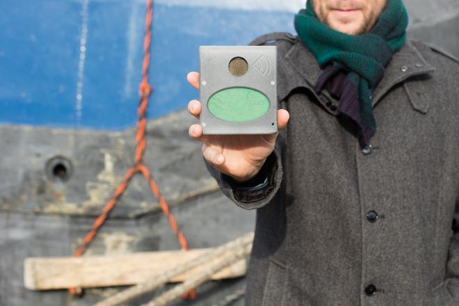 3D-Sonsorik soll fahrerlose Binnenschifffahrt ermöglichen. (Foto: UAntwerpen)