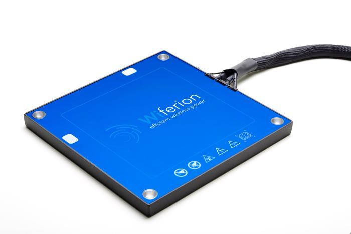 Wireless Charging: Das induktive Schnellladesystem etaLINK 3000 (Foto: Wiferion)