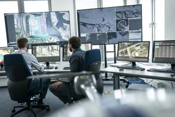 Integrated Drone Control Center (Foto: IFOY/RS Media World Archiv)