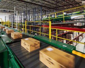 Trotz E-Commerce Boom senkt sich der CO2-Fussabdruck beim Online-Shopping und Logistikimmobilien. (Foto: Prologis)