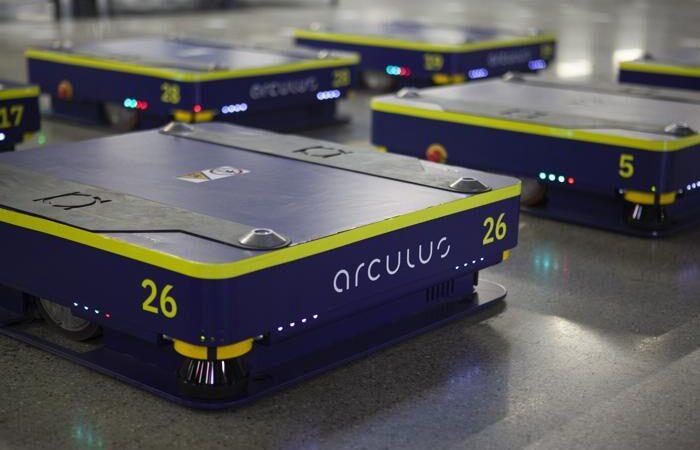 arculee2 - Der autonome Zusteller von Ware zur Person. (Foto: Arculus / RS MEDIA WORLD Archiv)