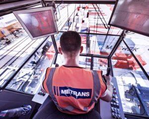 Metrans - Der Schienengüterverkehr zwischen Asien und Europa hat in den vergangenen Jahren an Volumen und Frequenz deutlich zugenommen. (Foto: Thies Rätzke / HHLA / RS MEDIA WORLD Archiv)