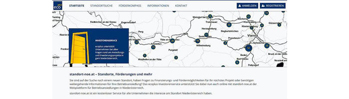 EcoPlus Wirtschaftsparks in Niederösterreich